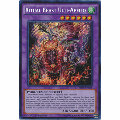 Ritual Beast Ulti-Apelio THSF-EN028 - YuGiOh The Secret Forces Secret Rare Card