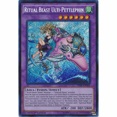 Ritual Beast Ulti-Pettlephin THSF-EN029 - YuGiOh The Secret Forces Secret Rare Card