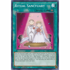Ritual Sanctuary YuGiOh � Legendary Duelists: Sisters of the Rose Common