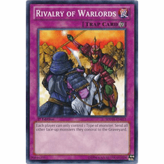 Rivalry of Warlords SDWA-EN033 - YuGiOh Samurai Warlords Common Card