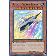 Rocket Arrow Express NUMH-EN024 - YuGiOh Number Hunters Super Rare Card