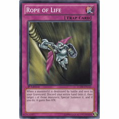 Rope of Life LCJW-EN133 - YuGiOh Joey's World Common Card