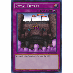 Royal Decree THSF-EN058 - YuGiOh The Secret Forces Super Rare Card