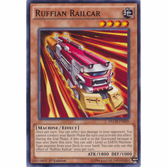 Ruffian Railcar NECH-EN090 - Common The New Challengers Card