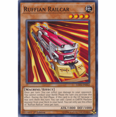 Ruffian Railcar YuGiOh � Legendary Duelists: Sisters of the Rose Common