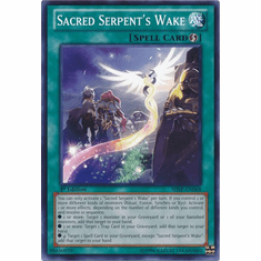 Sacred Serpent's Wake SHSP-EN068 - YuGiOh Shadow Specters Common Card