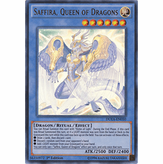 Saffira, Queen of Dragons DUEA-EN050 - ULTRA RARE Duelist Alliance Card
