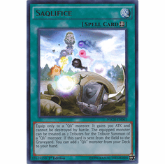 Saqlifice NECH-EN061 - Ultra Rare The New Challengers Card