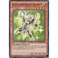 Satellarknight Alsahm DUEA-EN021 - SUPER RARE Duelist Alliance Card