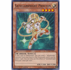 Satellarknight Procyon NECH-EN028 - Common The New Challengers Card