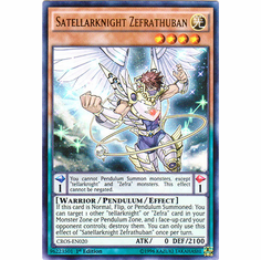 Satellarknight Zefrathuban CROS-EN020 Ultra Rare - YuGiOh Crossed Souls Card
