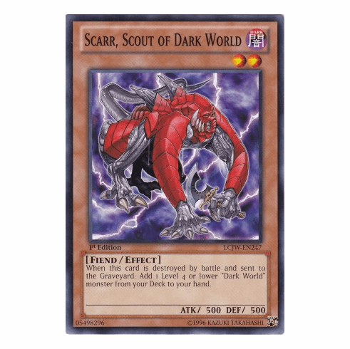 Scarr, Scout of Dark World LCJW-EN247 - YuGiOh Joey's World Common Card