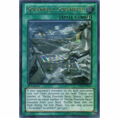 Scramble!! Scramble!! LTGY-EN061 - Lord Of The Tachyon Galaxy Ultimate Rare