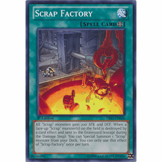 Scrap Factory PRIO-EN066 - YuGiOh Primal Origin Common Card