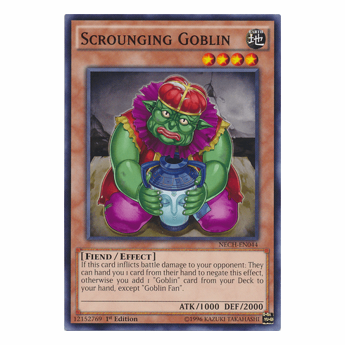 Scrounging Goblin NECH-EN044 - Common The New Challengers Card