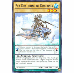 Sea Dragoons of Draconia CROS-EN000 Rare - YuGiOh Crossed Souls Card