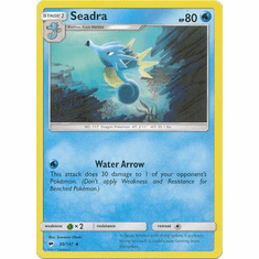 Seadra 30/147 Uncommon - Pokemon Sun & Moon Burning Shadows Card