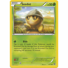 Seedot 9/114 Common - Pokemon XY Steam Siege Card