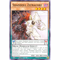 Shaddoll Zefracore CROS-EN023 Common - YuGiOh Crossed Souls Card