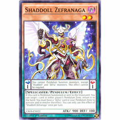 Shaddoll Zefranaga CROS-EN022 Common - YuGiOh Crossed Souls Card