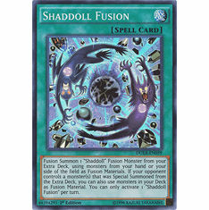 Shadoll Fusion DUEA-EN059 - Duelist Alliance SUPER RARE Duelist Alliance Card