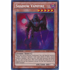 Shadow Vampire SHSP-EN030 - YuGiOh Shadow Specters Secret Rare Card