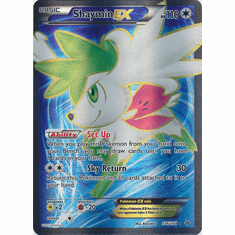 Shaymin EX 106/108 Full Art - Pokemon XY Roaring Skies Card