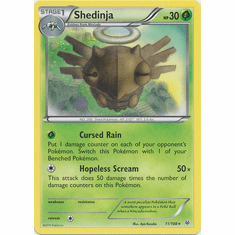 Shedinja 11/108 Rare - Pokemon XY Roaring Skies Card