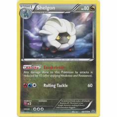 Shelgon 56/108 Uncommon - Pokemon XY Roaring Skies Card