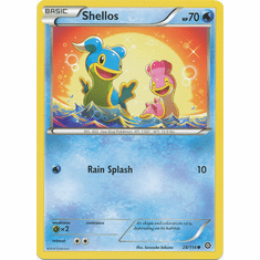 Shellos 28/114 Common - Pokemon XY Steam Siege Card