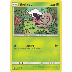 Shelmet 8/111 Common - Pokemon Crimson Invasion Card