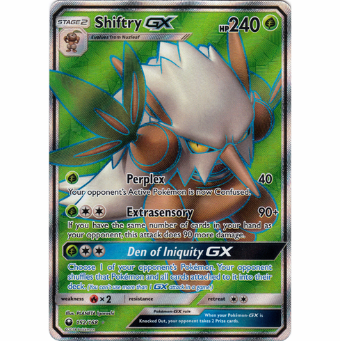 Shiftry GX 152/168 Full Art - Celestial Storm SM7 Pokemon Card
