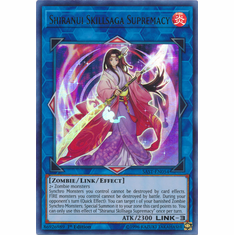 Shiranui Skillsaga Supremacy YuGiOh � Savage Strike Ultra Rare