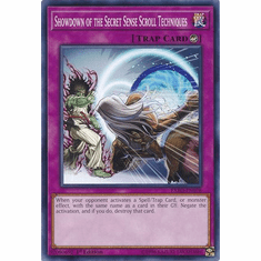 Showdown of the Secret Sense Scroll Techniques EXFO-EN078 Common - YuGiOh Extreme Force