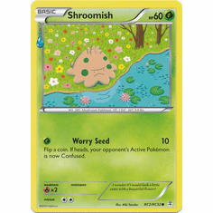 Shroomish RC2/RC32 Common - Pokemon Generations Card