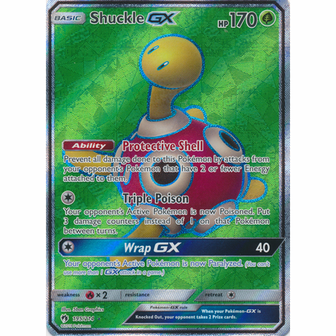 Shuckle GX - 195/214 - Full Art Ultra Rare