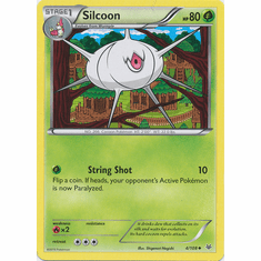 Silcoon 4/108 Uncommon - Pokemon XY Roaring Skies Card