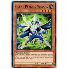 Silent Psychic Wizard HSRD-EN048 Common - YuGiOh High Speed Riders Card