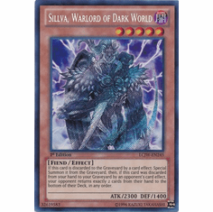 Sillva, Warlord of Dark World LCJW-EN245 - YuGiOh Joey's World Secret Rare