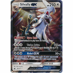 Silvally GX 90/111 Ultra Rare - Pokemon Crimson Invasion Card