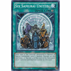 Six Samurai United SDWA-EN028 - YuGiOh Samurai Warlords Common Card