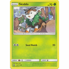 Skiddo 10/111 Common - Pokemon Crimson Invasion Card