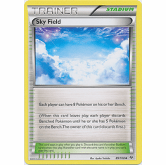 Sky Field 89/108 Uncommon - Pokemon XY Roaring Skies Card