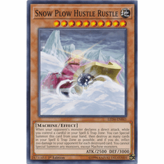 Snow Plow Hustle Rustle YuGiOh � Legendary Duelists: Sisters of the Rose Common