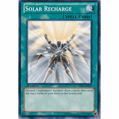 Solar Recharge SDLI-EN026 - YuGiOh Realm Of Light Common Card