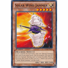 Solar Wind Jammer SDCR-EN013 - YuGiOh Cyber Dragon Revolution Common