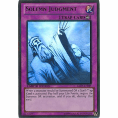 Solemn Judgment GLD5-EN045 - YuGiOh Haunted Mine Ghost / Gold Rare Card