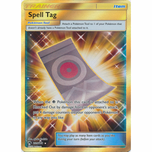 Spell Tag - 235/214 - Secret Rare