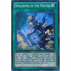Spellbook of the Master CT10-EN014 - YuGiOh Super Rare Promo Card