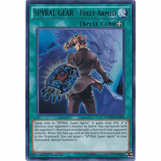 SPYRAL GEAR - Fully Armed MACR-EN088 Ultra Rare - YuGiOh Maximum Crisis Card